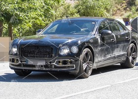 Fotos espía del nuevo Bentley Flying Spur 2019 (4)