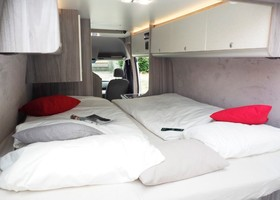 Hyundai H350 by Camperliebe interior.