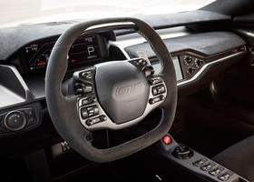Ford GT Carbon Series interior