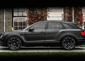 Bentley Bentayga by Kahn digno de Darth Vader (4)