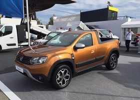 Confirmada la fabricación del Dacia Duster Pick Up