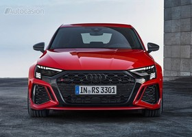 Audi RS3 2022 frontal