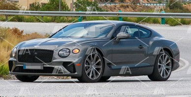 Fotos espía del nuevo Bentley Continental GT Speed