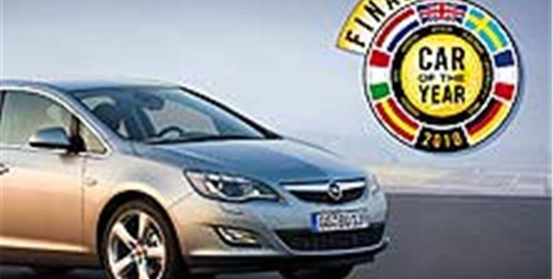 Astra y Car of the Year '10