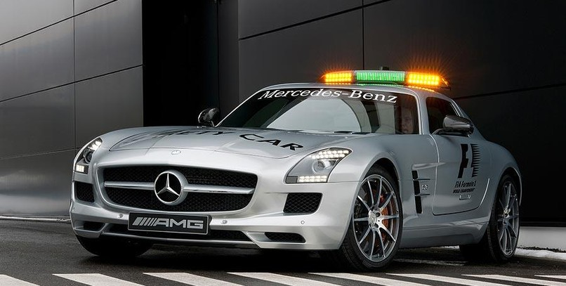 Mercedes-Benz SLS AMG safety car F1