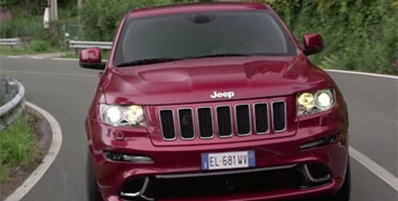 Jeep Grand Cherokee SRT, en vídeo