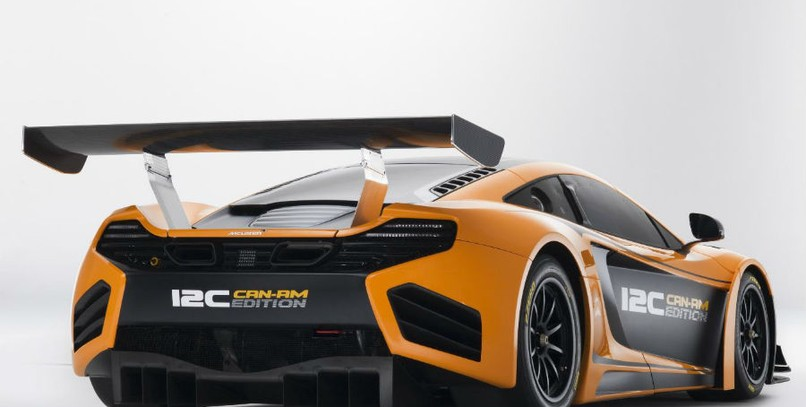 El difusor trasero del Mclaren MP4-12C Can Am Edition es totalmente novedoso.