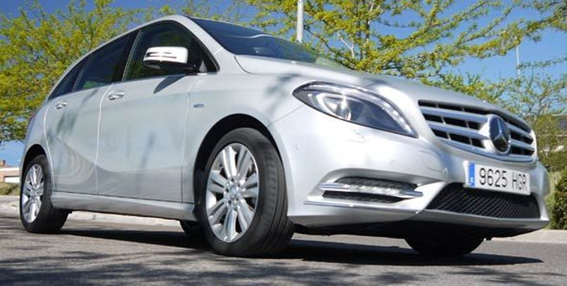 Mercedes B200 CDI BlueEFFICIENCY: la prueba