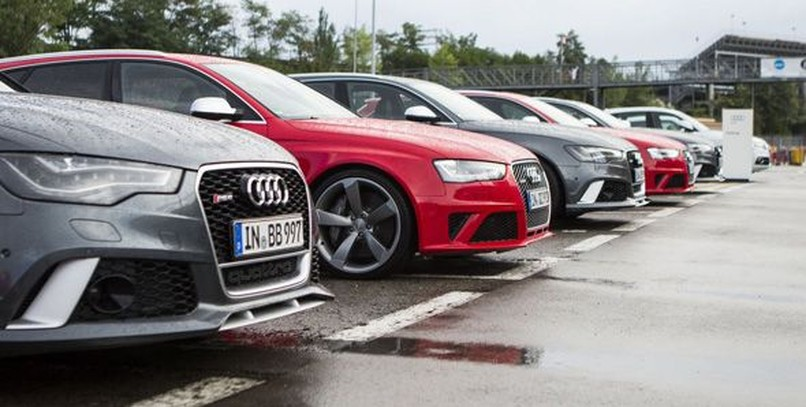 Audi Driving Experience 2013: probamos los Audi R8, RS4 y RS6