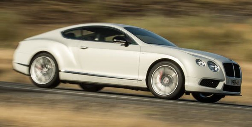 Bentley Continental GT V8 S, presente en Detroit