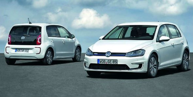 Volkswagen e-Up! y e-Golf: ya a la venta