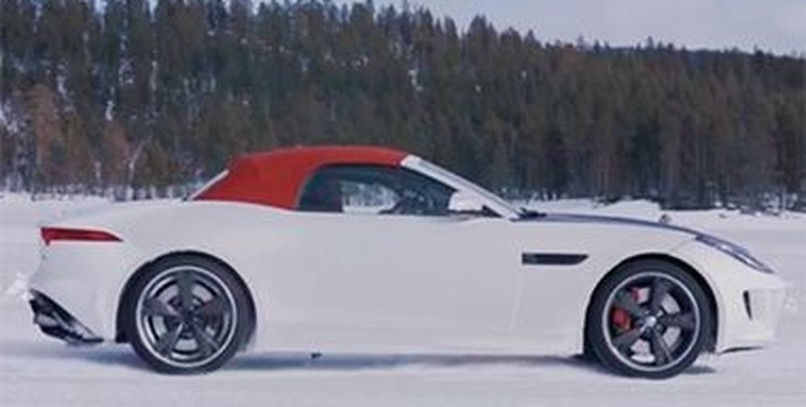 La tracción total y la caja manual del Jaguar F-Type en vídeo