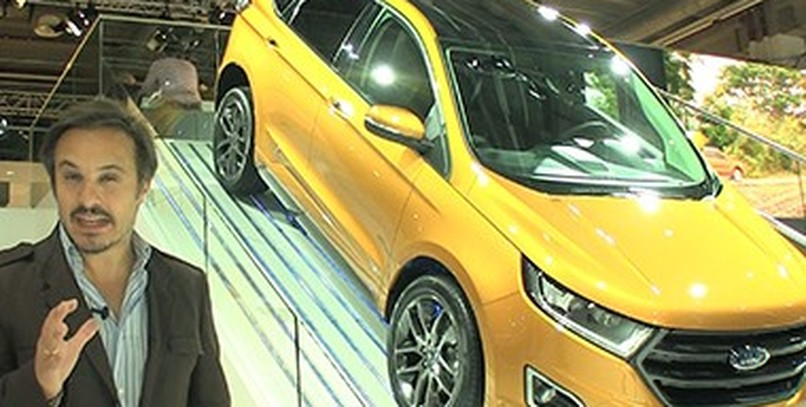 Vídeo: Ford Edge, en Frankfurt 2015