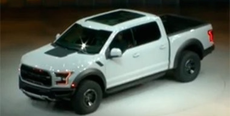 El Ford F 150 Raptor en vídeo en Detroit 2016