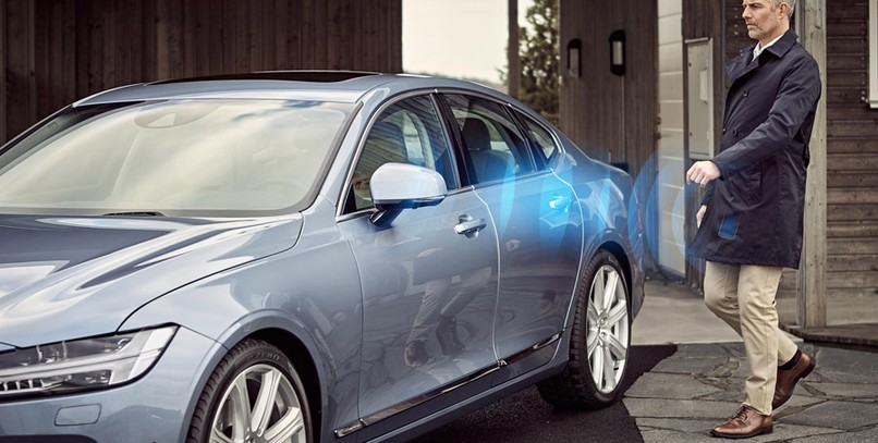 Volvo ha confirmado que su llave digital estará disponible en 2017.