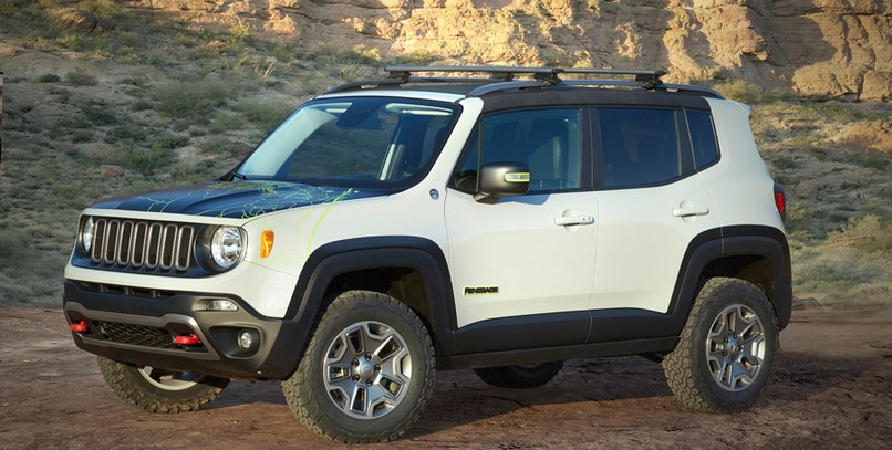 Jeep Renegade Commander.