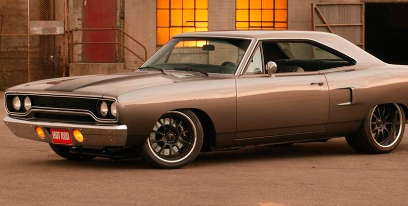 "Plymouth Road Runner, el coche de Toretto en ""The Fast and the Furious: Tokyo Drift""."