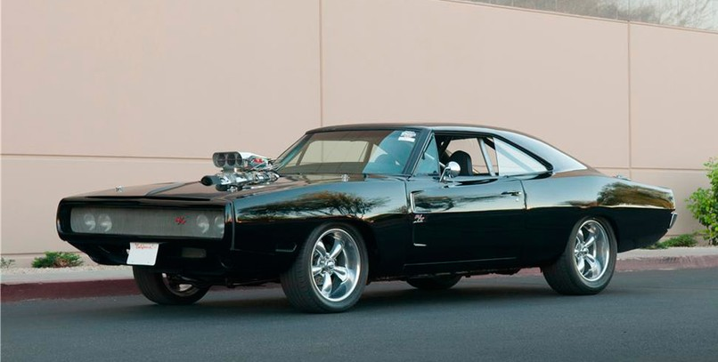 "Dodge Charger R/T, el coche de Toretto en ""The Fast and the Furious"" (1)."