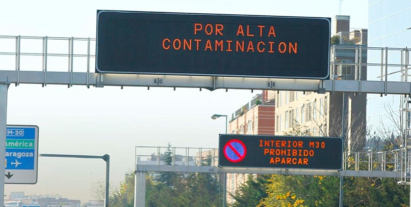 Balance positivo del plan anticontaminación en Madrid