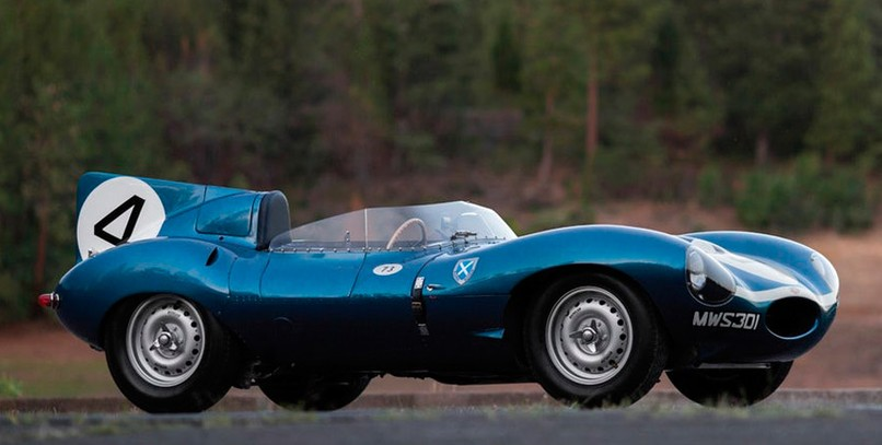 Jaguar D-Type 1955.