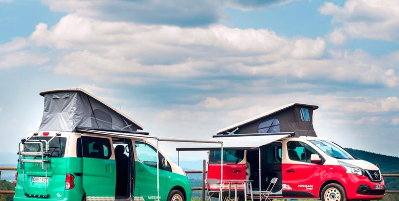 Gama camper de Nissan: la alternativa a VW California y Mercedes Marco Polo