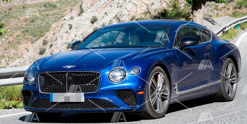 Primeras fotos del futuro Bentley Continental GT Speed 2020