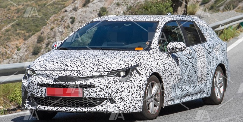 Primeras fotos del Toyota Auris Touring Sports 2019