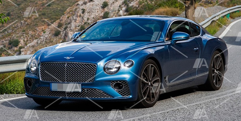 Fotos espía del Bentley Continental GT híbrido enchufable 2019