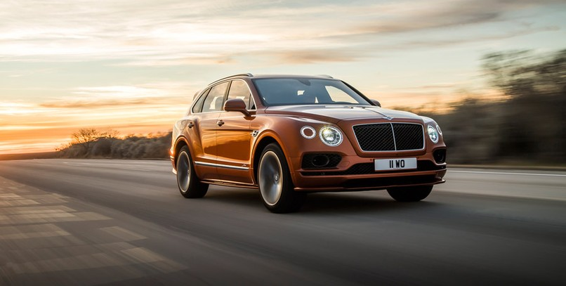Bentley Bentayga Speed: un potentísimo y lujoso cañón