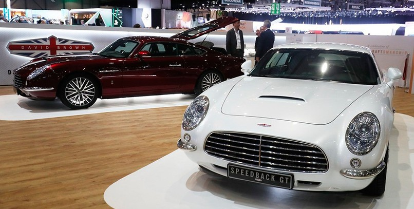 David Brown Speedback GT: James Bond vuelve a Ginebra