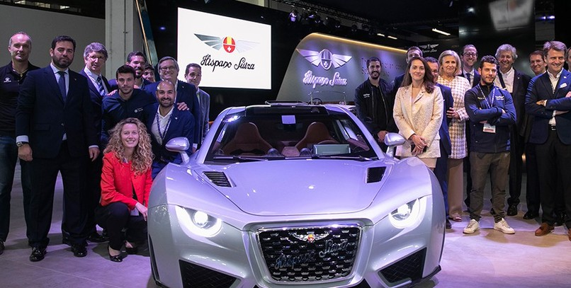 El Hispano Suiza Carmen brilla en Automobile Barcelona 2019 (con vídeo)