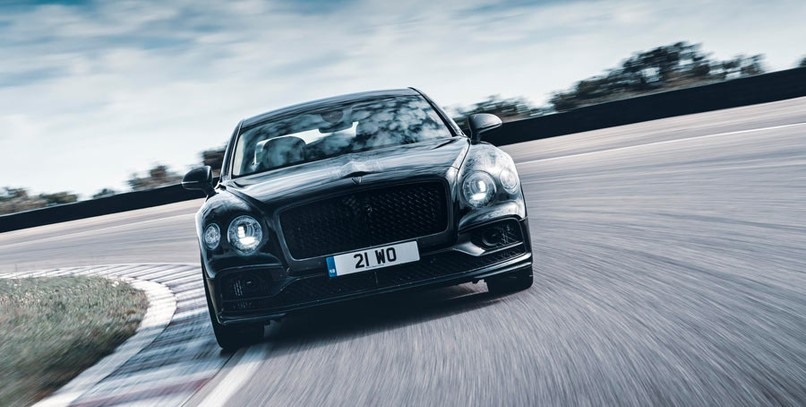 Bentley Flying Spur 2019: se viste de gala para su presentación