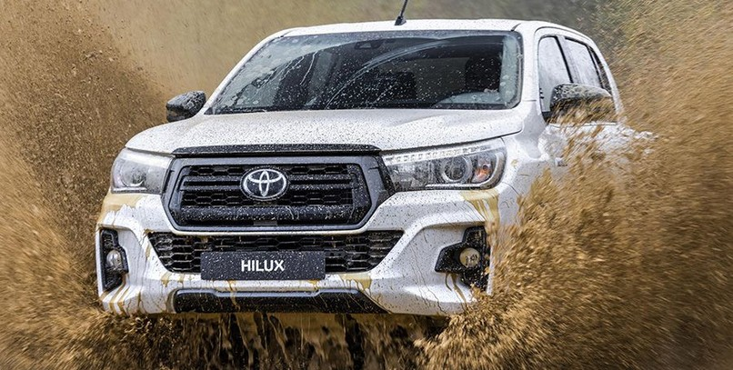 Toyota Hilux Legend Black: nuevo acabado para la 'pick-up' de referencia