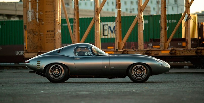 El renacer de un Jaguar E-Type Low Drag Coupé