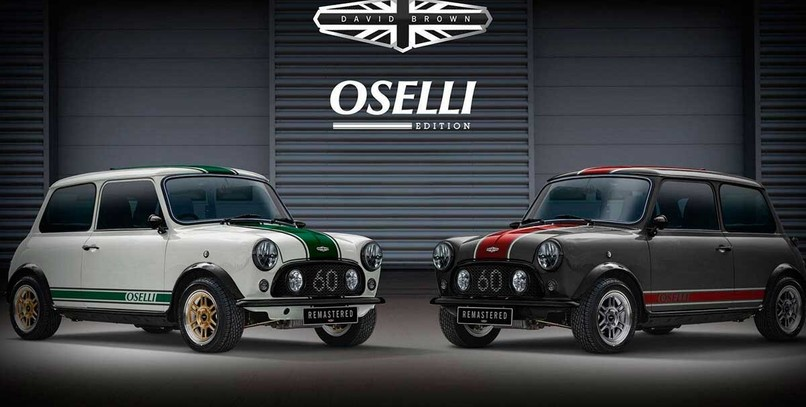David Brown Mini Remastered Oselli Edition, el restomod que necesitas