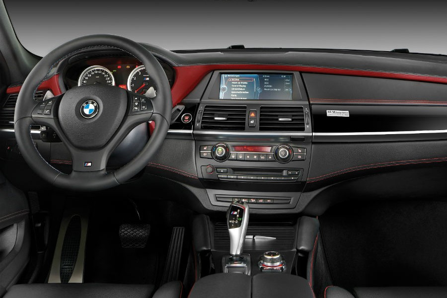 Interior del BMW X6 M Design Edition.