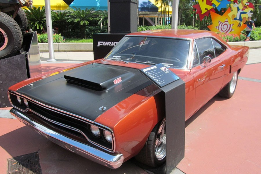 "Plymouth Road Runner, el coche de Toretto en ""Furious 7""."