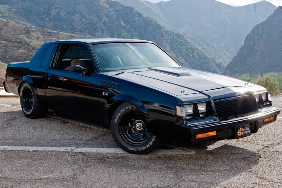 "Buick Regal GNX, el coche de Toretto en ""Fast and Furious"" (4)."