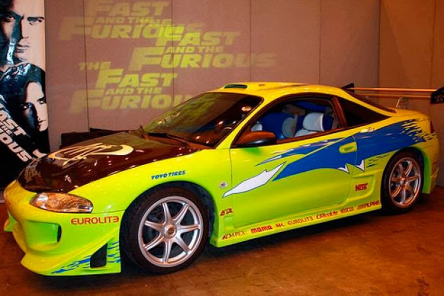 "Mitsubishi Eclipse, el coche de O'Conner en ""The Fast and the Furious"" (1)."