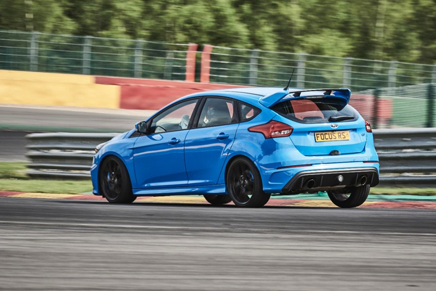 Ford Focus RS en la Pista