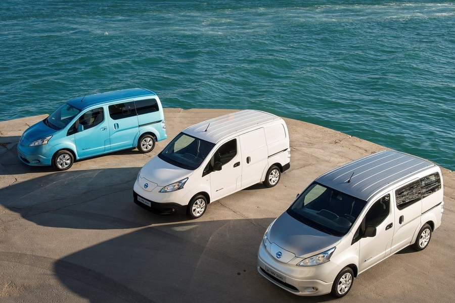 Gama industrial Nissan e-NV200.
