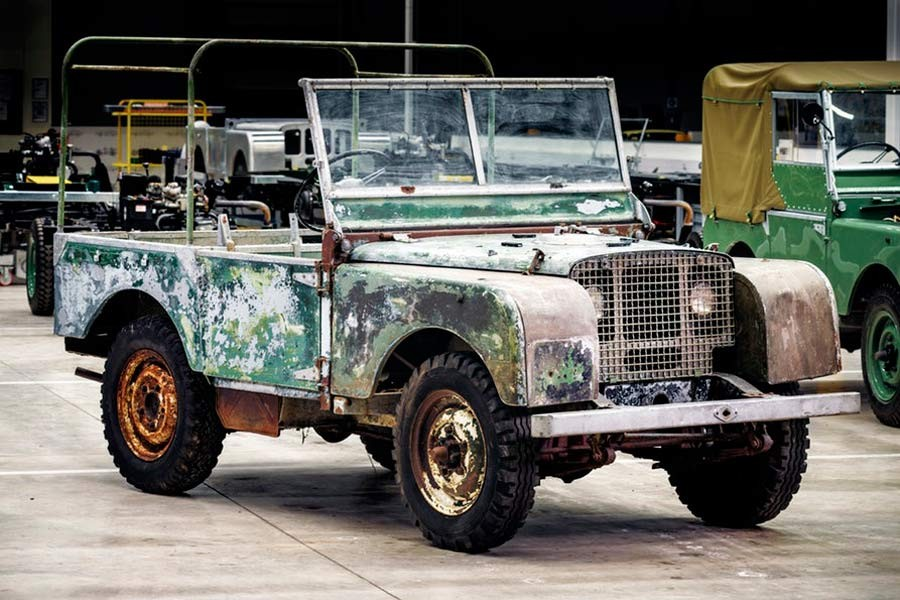 Land Rover Series 1 restauración.