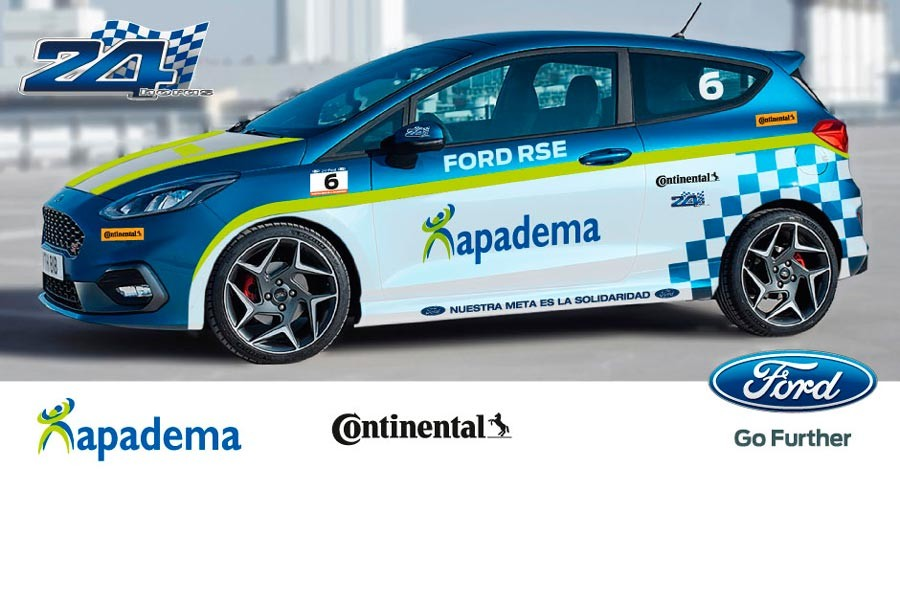 Apadema – AS en las 24 Horas Ford 2018.