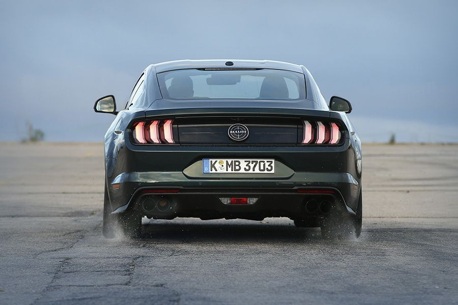 El Ford Mustang Bullit cuenta con 'Launch Control'.