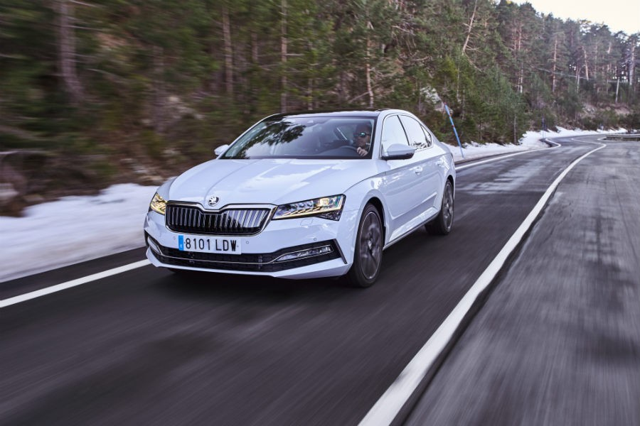 Skoda Superb iV PHEV.