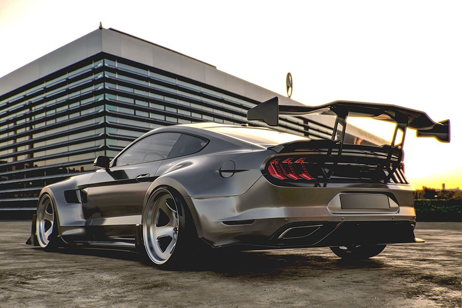 Ford Mustang Shelby Super Snake 2020