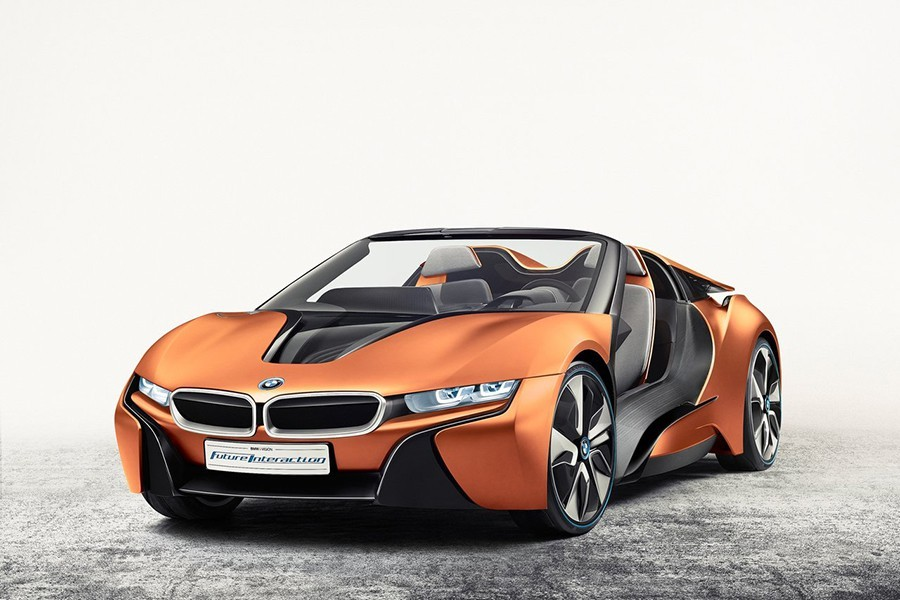 BMW i Vision Future Interaction Concept 2016, la base del BMW i8.